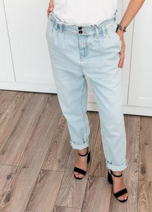 Очень красивые и стильные джинсы мом