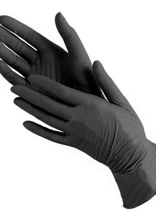Перчатки нитриловые плотные р.s