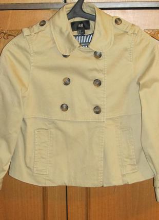 Осенне-весенний укороченный пиджак h&m