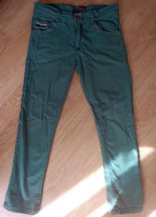 Котоновые джинсы