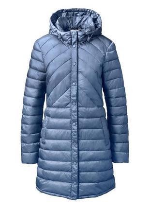 Стеганая длинная куртка.tcm чибо.германия.размер на выбор.2 фото