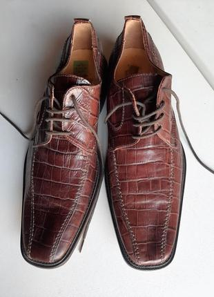 Туфли крокодили