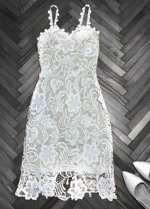 Платье женское бежевое размер м