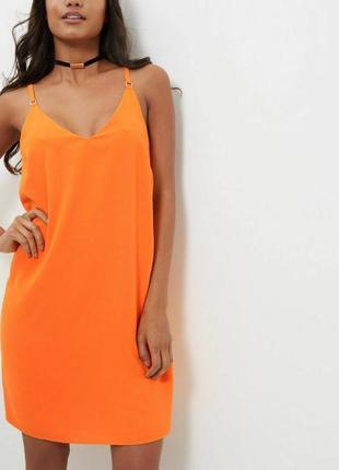 Красивое летнее платье миди свободного силуэта