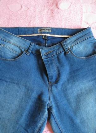 Джинси сині, джинсы синие bershka