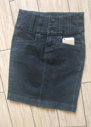 Стильная юбочка джинмовая юбка