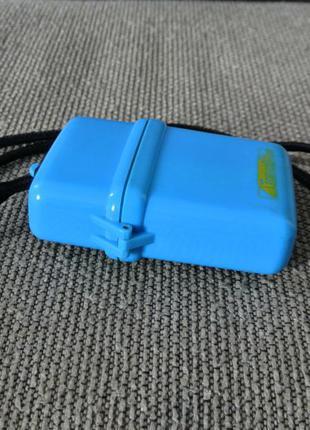 Сумка-футляр для телефона пластмассовая, голубой