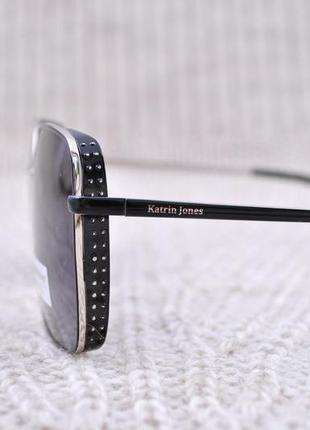 Большие солнцезащитные очки katrin jones polarized с боковой шорой