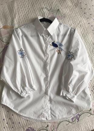 Блуза с вышивкой