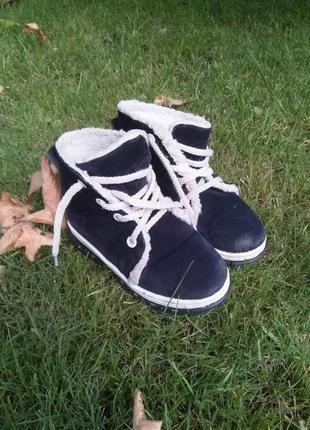 Красивые ботинки доя сухой погоды