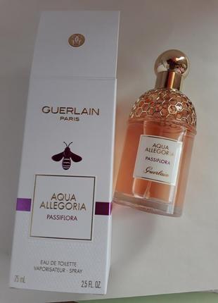Туалетная вода  guerlain aqua allegoria passiflora