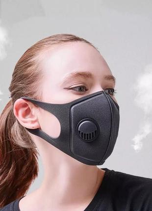 Маска pitta c клапаном для дыхания