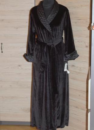 Стильный , красивый халат из бархата jones new york!