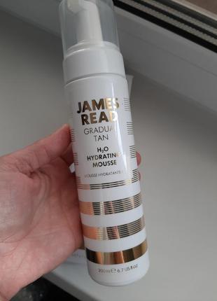 Мусс-автозагар james read radual tan h2o hydrating mousse 200ml