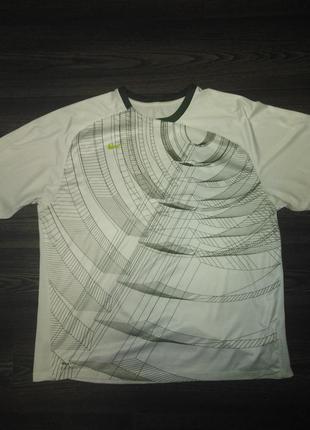 Классная футболка с необычным принтом nike xl
