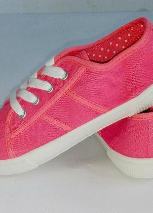 Мокасины для девочки розовые lupilu