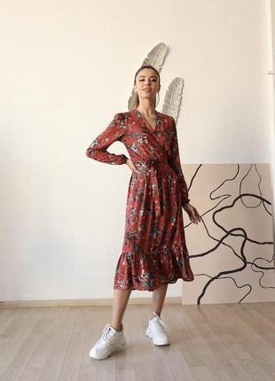 Платье миди тренд сезона