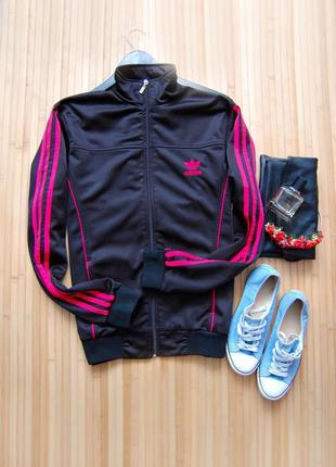 Спортивная кофта олимпийка adidas на замке