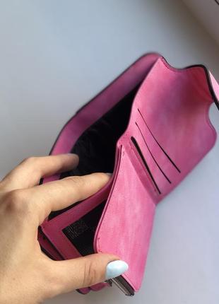 Кошелек женский baellerry forever mini dark pink2 фото
