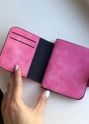 Кошелек женский baellerry forever mini dark pink4 фото