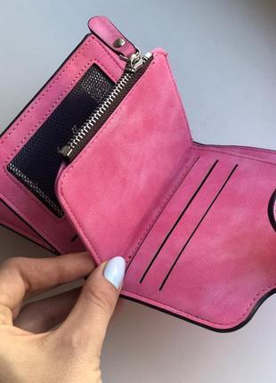 Кошелек женский baellerry forever mini dark pink6 фото
