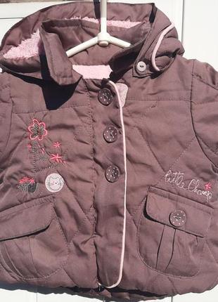 Весенняя куртка на флисе