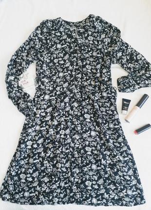 Вискозное платье oodji