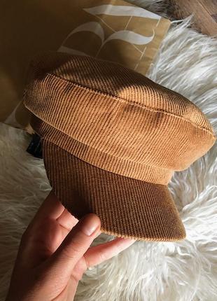 Вельветовая кепка/фуражка zara1 фото