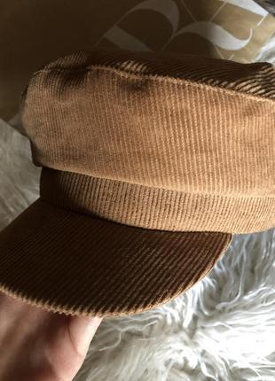 Вельветовая кепка/фуражка zara2 фото