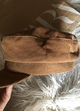 Вельветовая кепка/фуражка zara3 фото