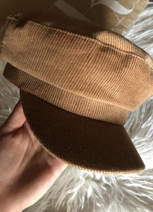 Вельветовая кепка/фуражка zara5 фото