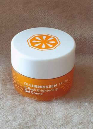 Увлажняющий и освежающий крем-гель для лица ole henriksen с витамином с3 фото