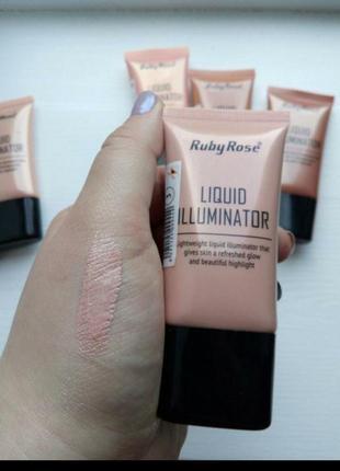Иллюминатор хайлайтер ruby rose liquid illuminator тон 3