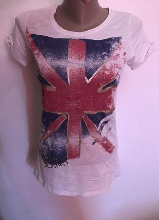 Оригинальная женская футболка pepe jeans. размер s