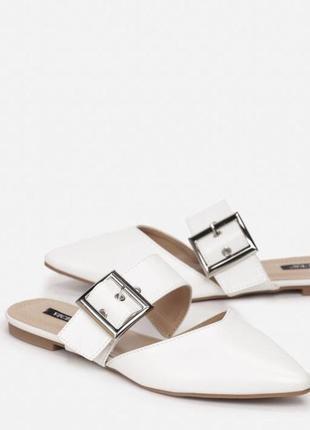 Мюли , балетки , шлепанцы ,удобные туфли новые белого цвета экокожа новинка ✨