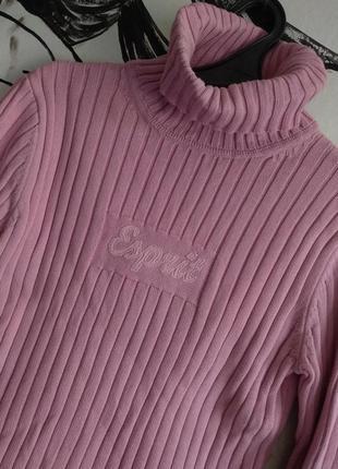 Свитер розовый милый esprit