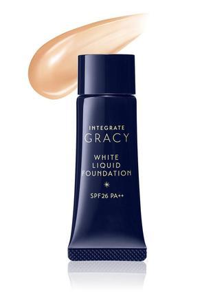 Тональный крем shiseido integrate gracy white liquid foundation, япония