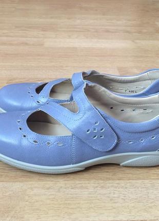 Кожаные туфли easy comfort 42 размера в идеальном состоянии