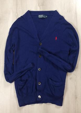 F7 пуловер ralph lauren синий кардеган ральф лоурен