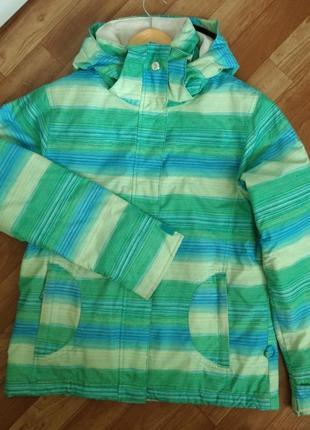 Лижна сноубордична тепла куртка / лыжная сноубордическая теплая куртка - roxy - s