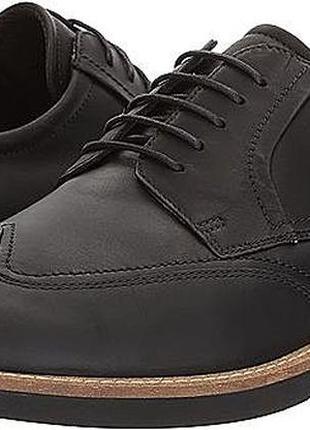 Кожаные туфли броги экко ecco biarritz modern р.44 оригинал новые