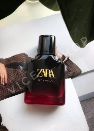 Zara red vanilla духи парфюмерия туалетная вода