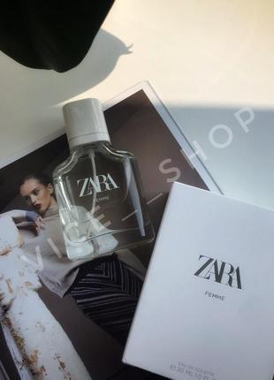 Zara femme духи парфюмерия туалетная вода оригинал испания 🇪🇸