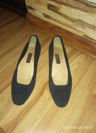 Шкіряні туфлі, замшеві/туфли кожанные