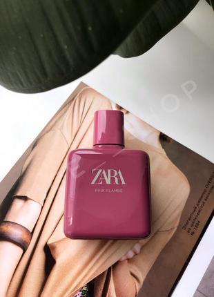 Zara pink flambe духи парфюмерия туалетная вода оригинал испания