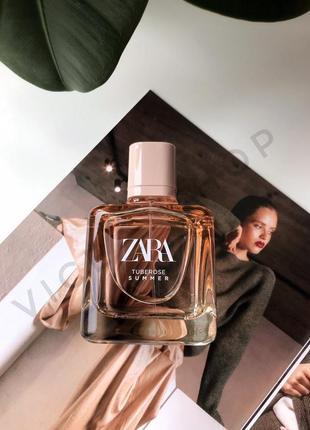 Zara  tuberose summer духи парфюмерия туалетная вода оригинал испания