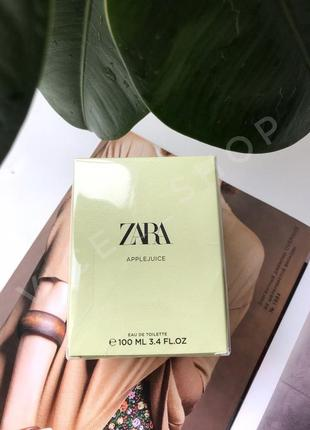 Zara  applejuice духи парфюмерия туалетная вода оригинал испания