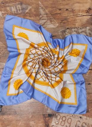 Шелковый платок valentino, италия.