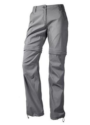Crivit 2в1 женские трекинговые, туристические штаны-шорты трансформеры люкс качество