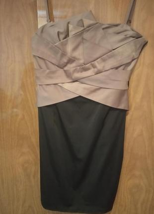 Супер платье с корсетным лифом